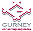 Gurney Consulting Engineers branding and logo design