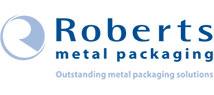 Roberts Metal Packaging branding and logo design
