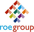 Roe Group branding and logo design