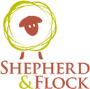Shepherd and Flock public house Farnham branding and logo design