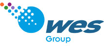 WES Group branding and logo design