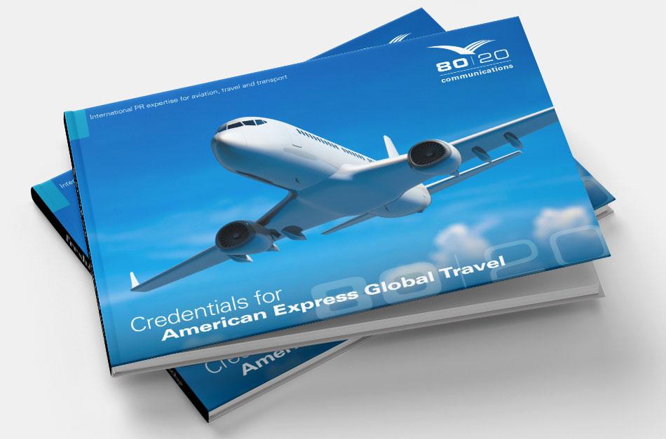 PR agency 80:20 Communications brochure design