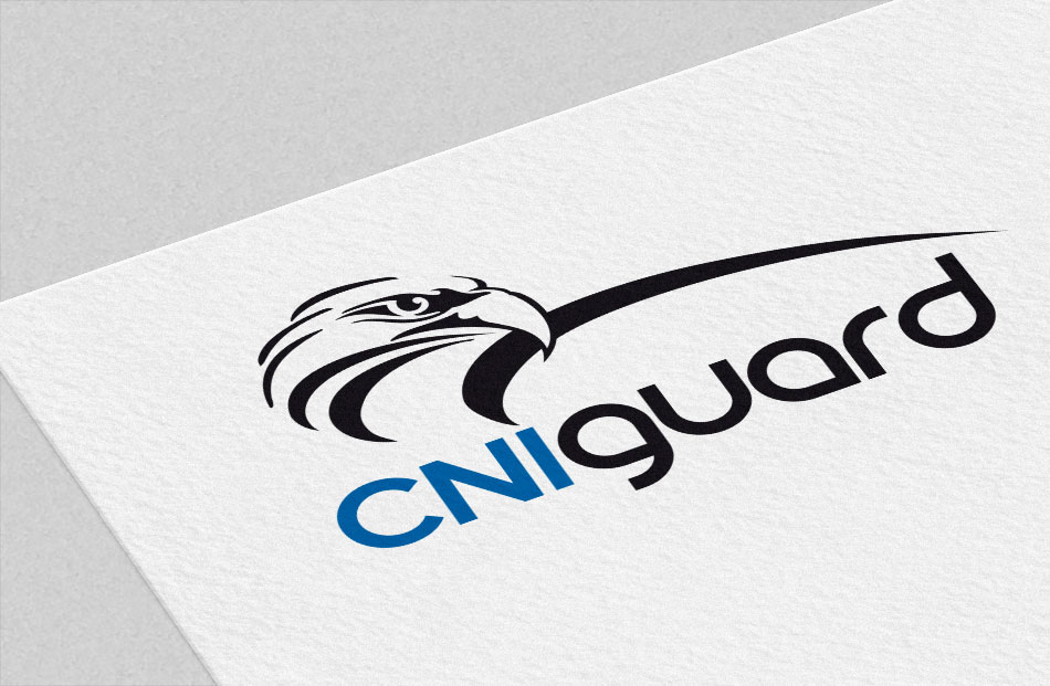 Critical infrastructure company CNIguard brand and logo design