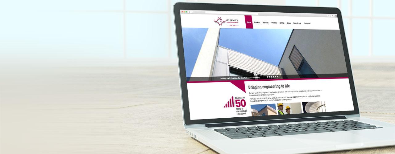 Gurney Consulting Engineers portfolio banner