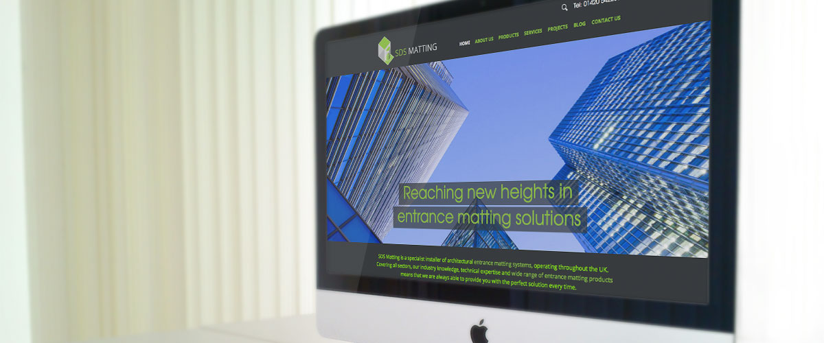 SDS Matting portfolio banner