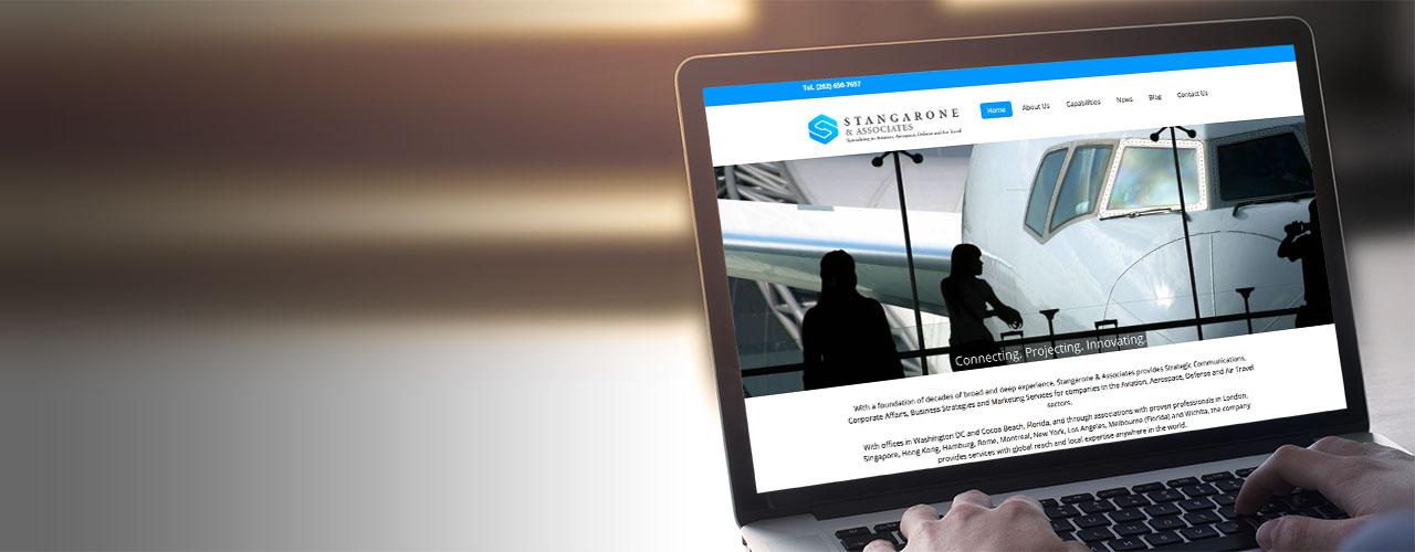 Stangarone Associates portfolio banner