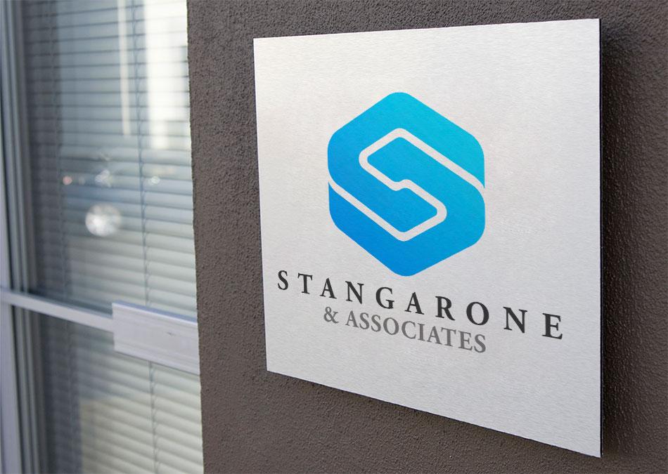 Stangarone Associates brand and logo design