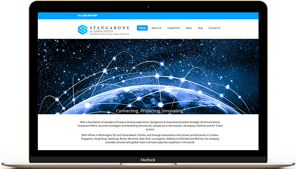 Stangarone Associates web design
