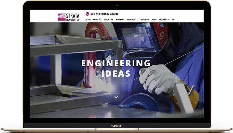 Strata Technology web design